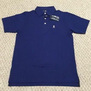 Psycho Bunny Boy Blue Polo Shirt